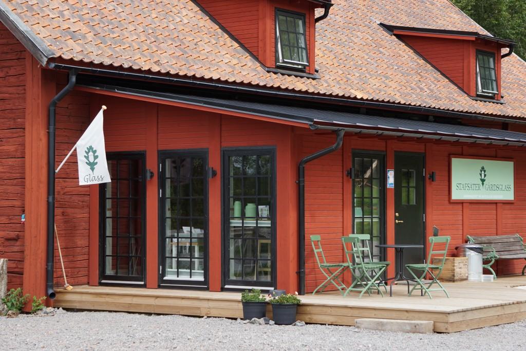 Idag besökte vi Stafsäters gårdsglass i Sturefors utanför Linköping som  säljer underbart god närproducerad glass. Vi var även borta vid korna och  sa hej. 5716e3cdfa10f