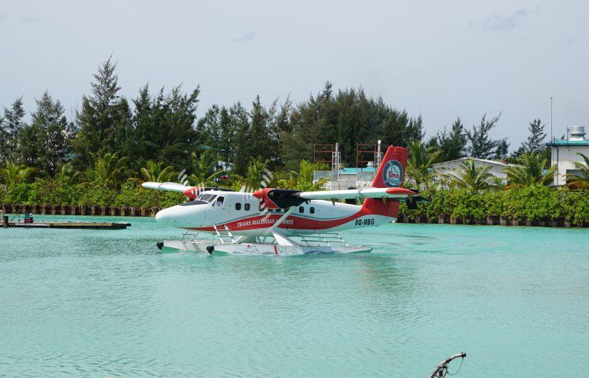 maldiverna vattenflygplan