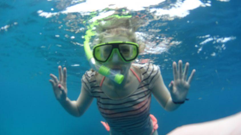 snorkling maldiverna