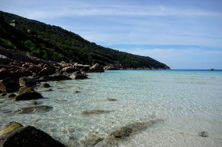 Clear water in Redang Island